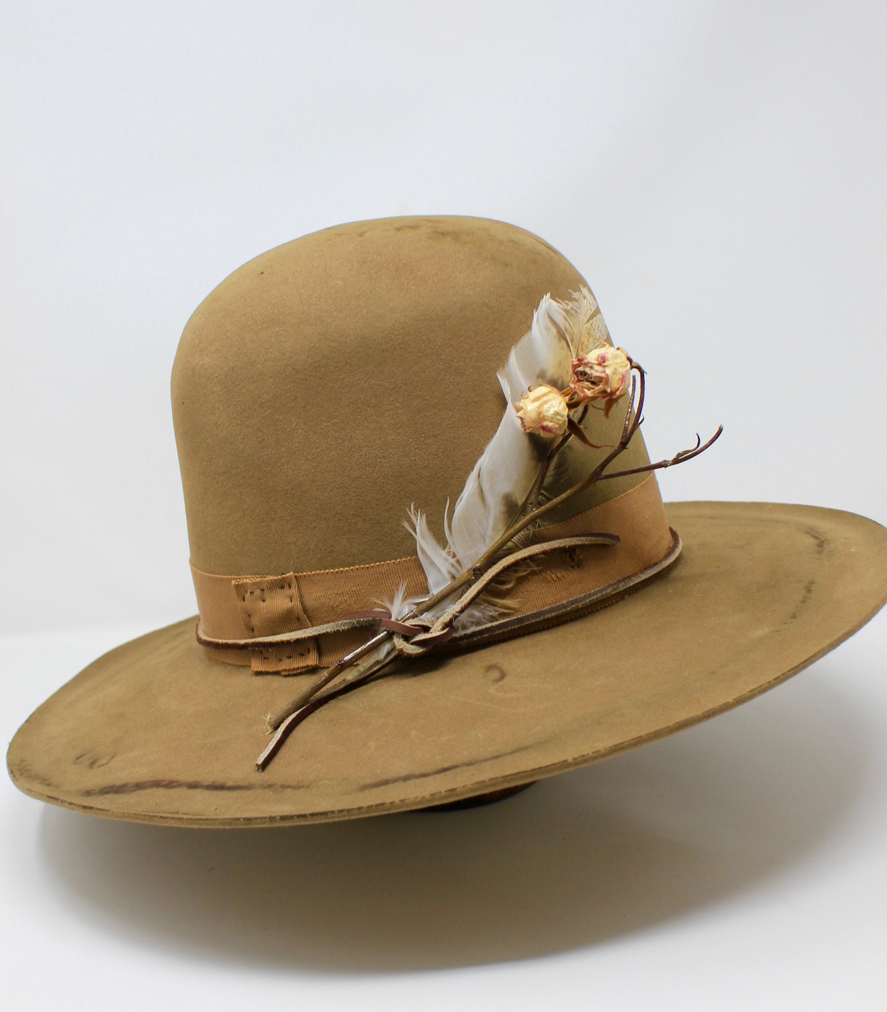"""Cree Mountain"" Handmade Lone Hawk Hat"