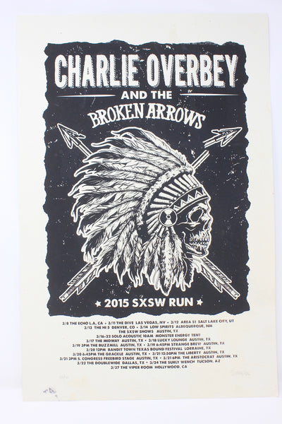 Limited Edition 2015 SXSW Run Show Poster