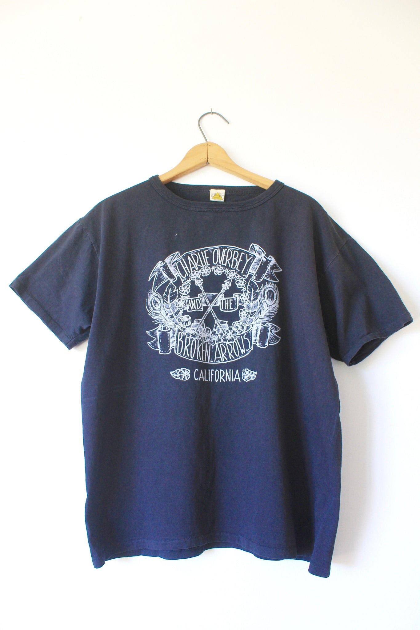 Charlie Overbey & The Broken Arrows Limited Run Filth Mart Tee