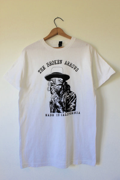 "Charlie Overbey & The Broken Arrows ""Beach Face"" Tee"