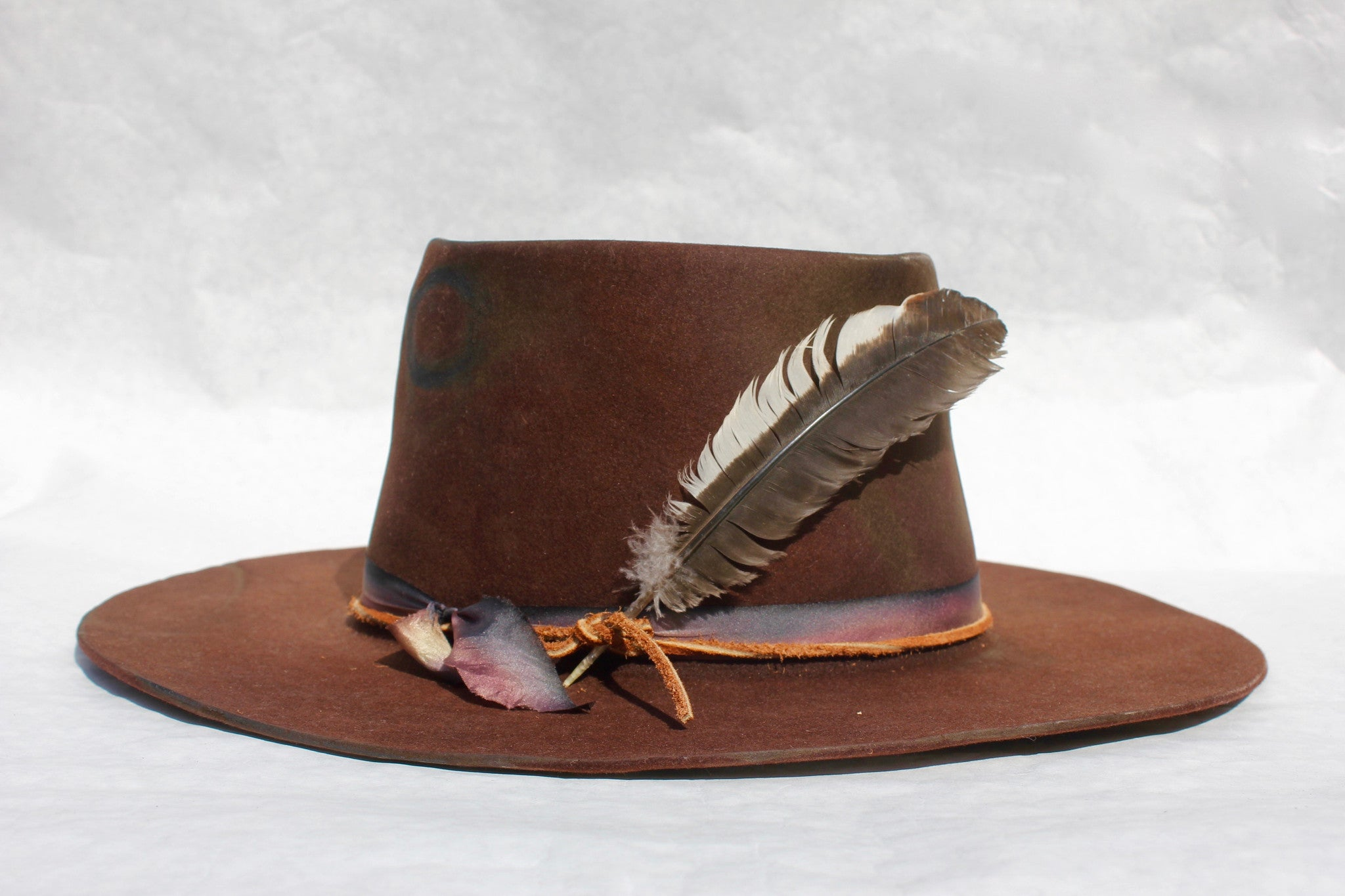 """The Savannah"" Dark Chestnut Lone Hawk"