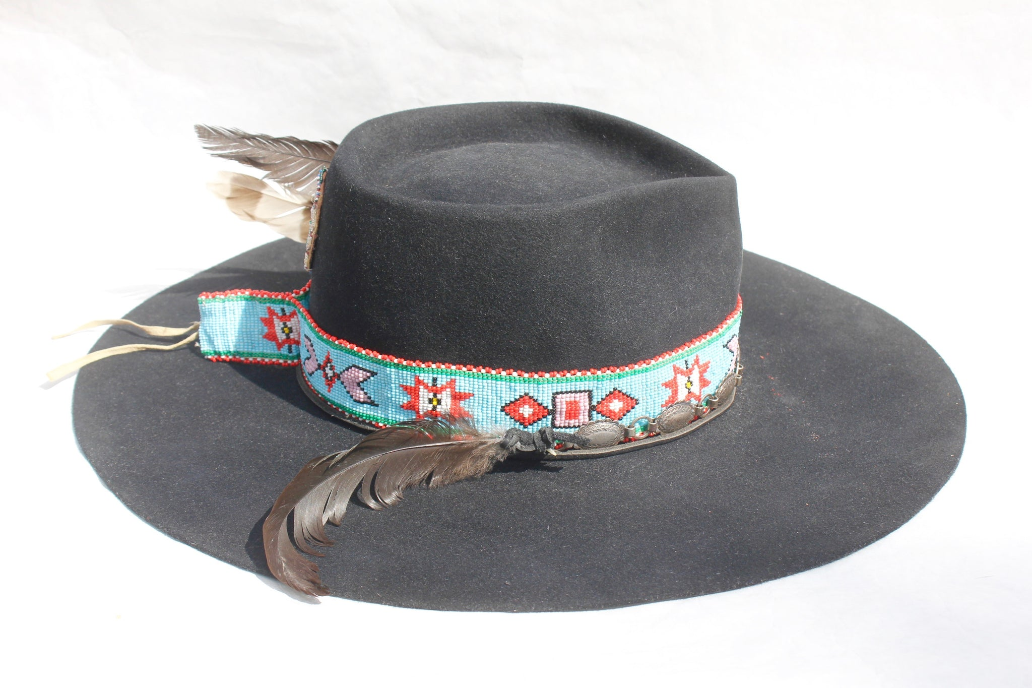 """The Medicine Man"" Custom Lone Hawk Hat"
