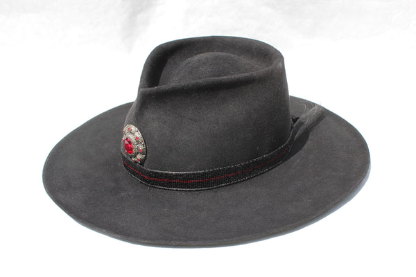 """The Saturday Night Fever"" Lone Hawk One of a Kind Custom Hat"