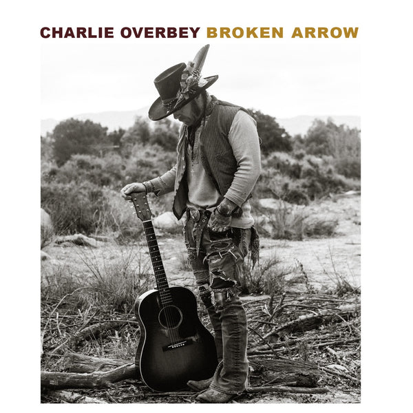 "Pre-Purchase New Full Length Charlie Overbey ""Broken Arrow"" Vinyl LP 4/20/2018"