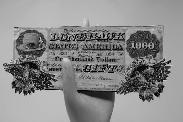 $100 Lone Hawk Currency / Lone Hawk Gift Certificate
