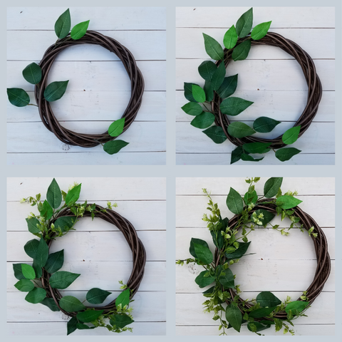 making a willow wreath