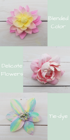 How To Dye Sola Wood Flowers Hand Painting Oh You Re Lovely