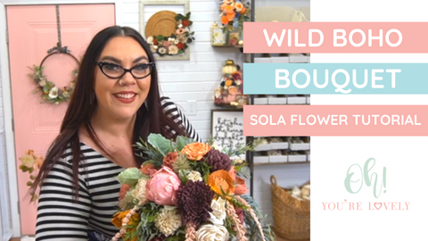 How to make a wild bouquet
