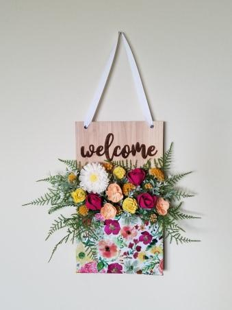 Flower Pockets™  Welcome _sola_wood_flowers