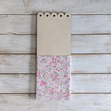 Flower Pocket™ scolloped detail - vintage pink _sola_wood_flowers