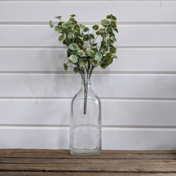 Small Mint Leaves Greenery - faux _sola_wood_flowers