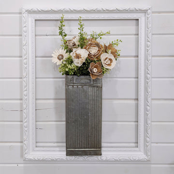 Long Tin Vase - Craft Kit _sola_wood_flowers