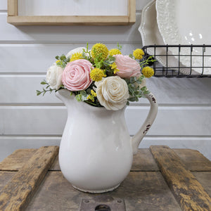 Ceramic Pitcher - Craft Kit _sola_wood_flowers