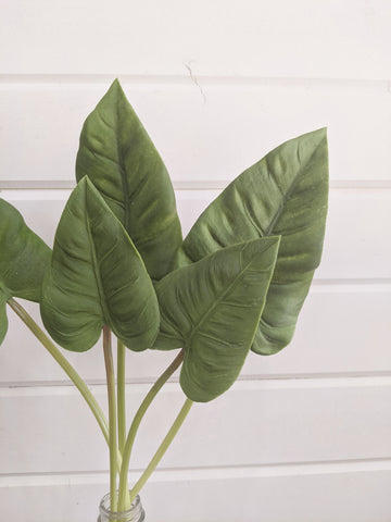 Philodendron spear leaves - tropical - faux _sola_wood_flowers