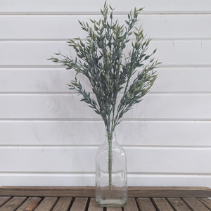 Italian Ruscus stem Artificial Greenery - 21 inches _sola_wood_flowers