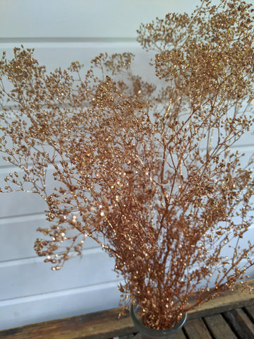 Mini Gyp-Copper Sparkle _sola_wood_flowers