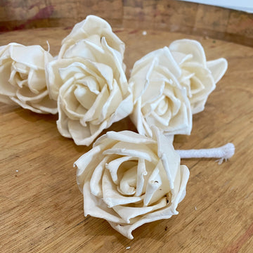 Thelma - with wick - set of 6 _sola_wood_flowers