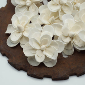 Alice™ Flower  - set of 12- 3 inches _sola_wood_flowers