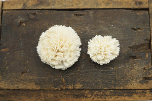 Carnation Flower - set of 12- 3 inches _sola_wood_flowers