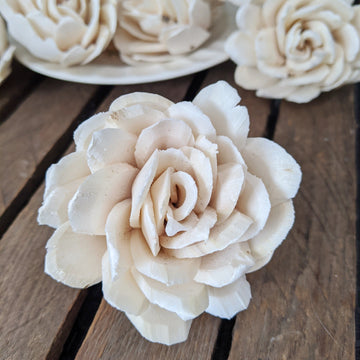 Chippy™ - set of 12-  2.5 inches _sola_wood_flowers