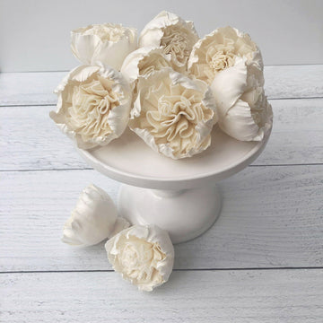 Cottage Rose- 2 inches- Set of 12 _sola_wood_flowers
