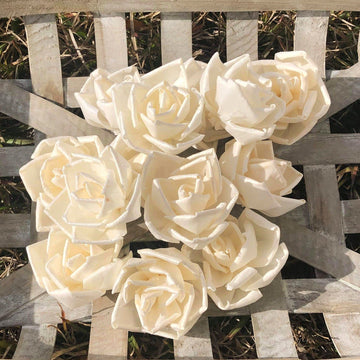 Edgy™ Rose - 2.5 inch - Set of 6 _sola_wood_flowers