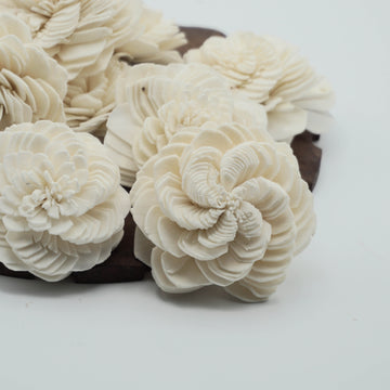 Eternity™ Flower - set of 12- 2.5 inches _sola_wood_flowers