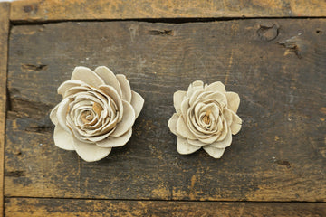 Forest Lilly™- set of 12-  1.5 inches _sola_wood_flowers