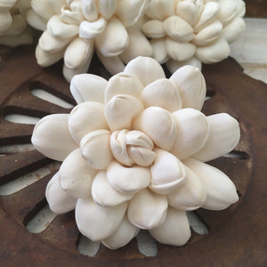 Halo™ Flower  - set of 12- 3 inches _sola_wood_flowers