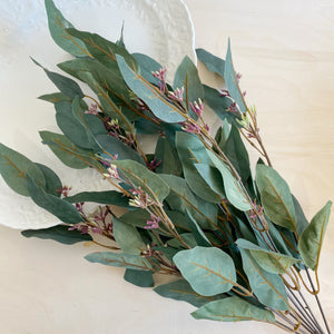 Seeded  Eucalyptus | 22 inches | Artificial