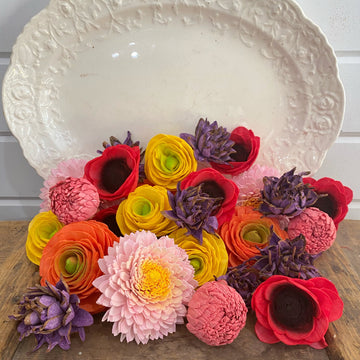 Lovely Garden  - Dyed Sola Wood Flower Assortment _sola_wood_flowers