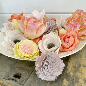 Spring Dance - Dyed Sola Wood Flower Assortment