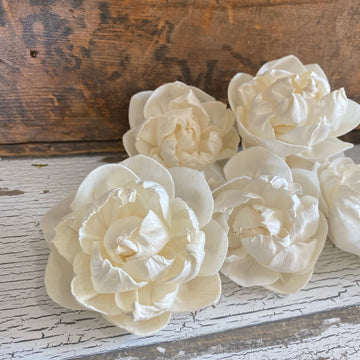 Stella- 2 inch - Set of 6 _sola_wood_flowers