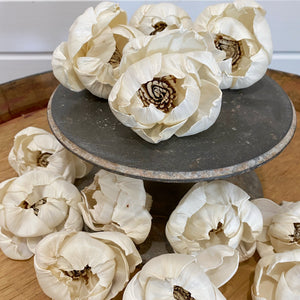 Helen™- set of 12-  2.5 inches _sola_wood_flowers