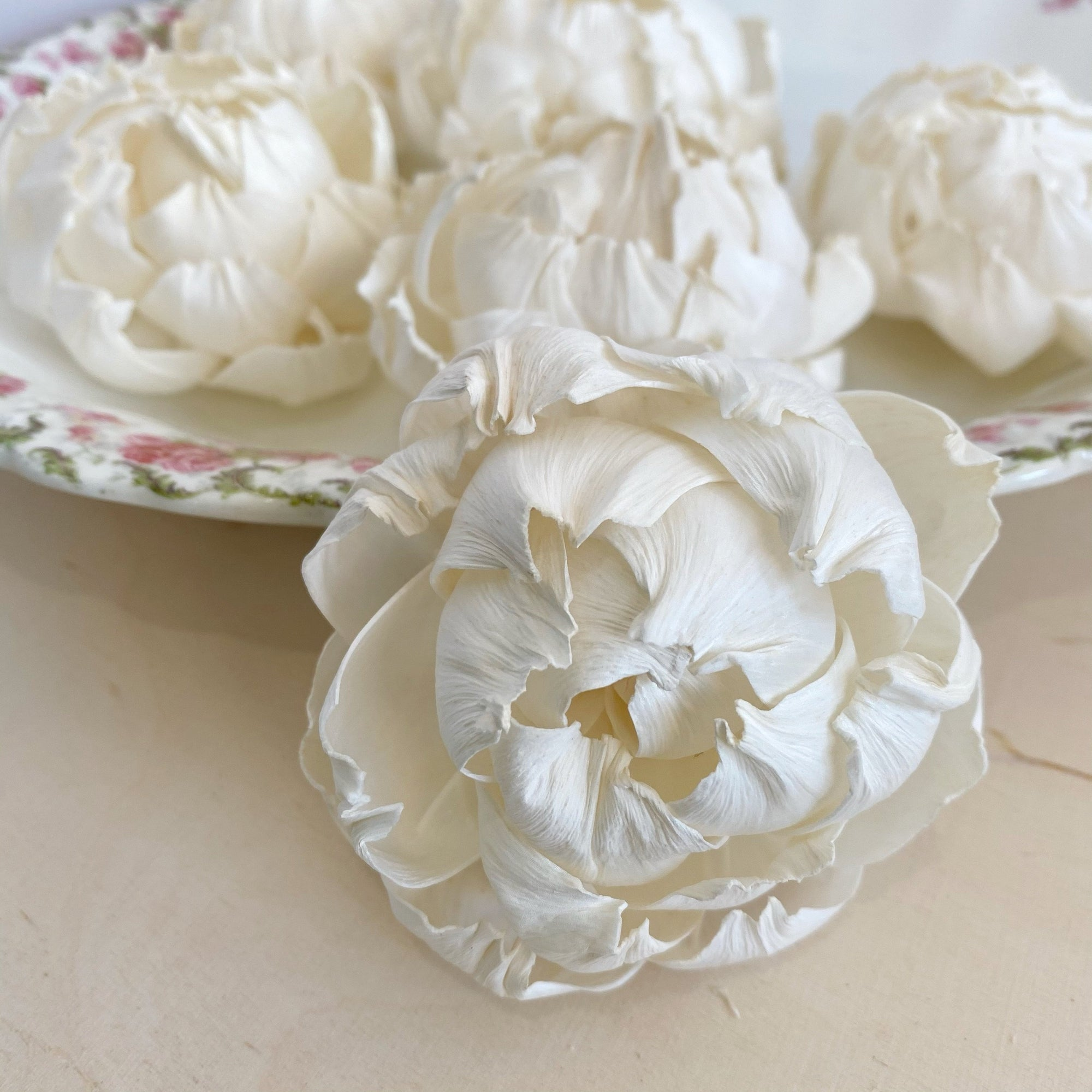 Luxe Peony - 3 inch - Set of 6 - Add on