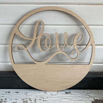 14 inch Love Wreath