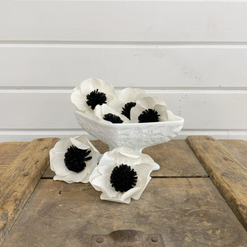Dyed Anemones - set of 6 _sola_wood_flowers