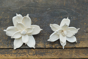 Jasmine - set of 12- 1.5 inches _sola_wood_flowers