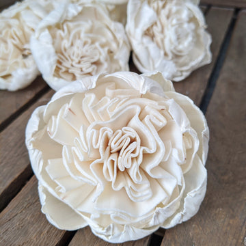 Juliet Rose™- set of 12 - 3 inches _sola_wood_flowers