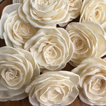 Lola™ - set of 12 Multiple Sizes Available _sola_wood_flowers