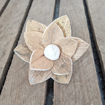 Luna™  set of 12 - 2.5 inches _sola_wood_flowers