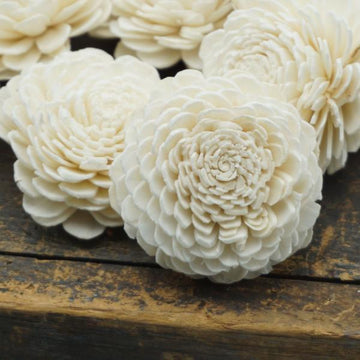 Marigold - Bulk Wholesale 100 Pack- 1.5 inches _sola_wood_flowers