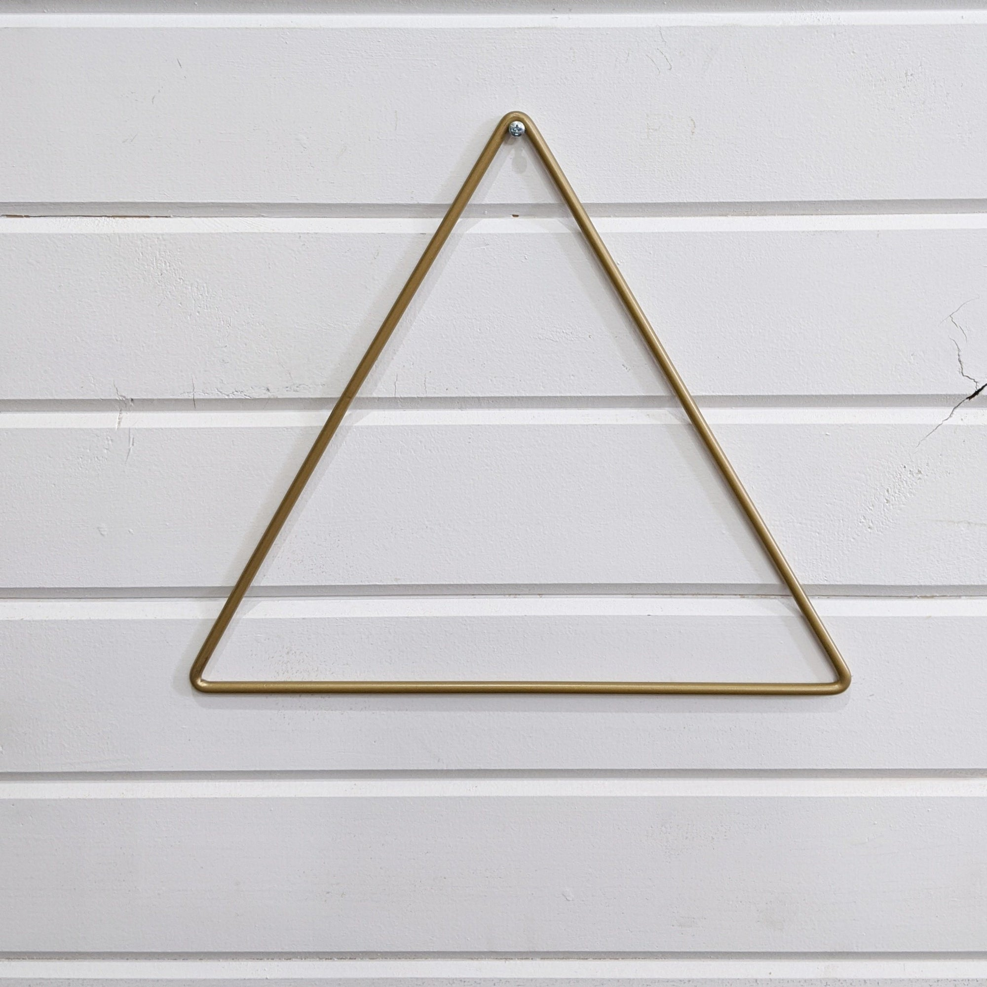 Metal Triangle - Gold _sola_wood_flowers