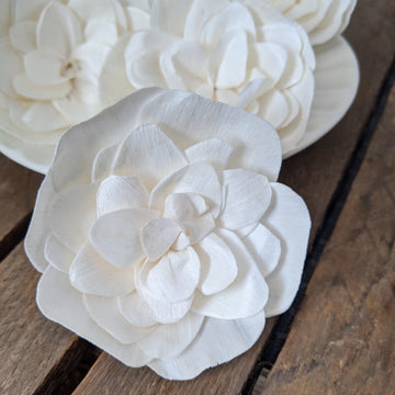 Misty™ set of 12 - 2.5 inches _sola_wood_flowers