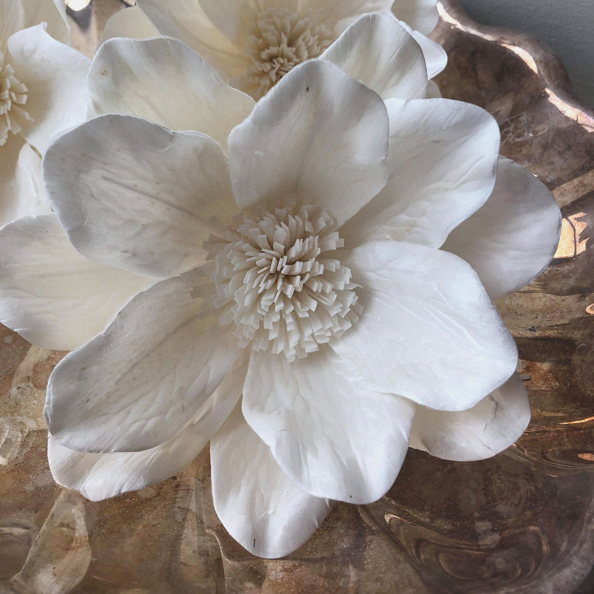 Mystic Moon™ Flower - set of 3 - large luxe flower _sola_wood_flowers