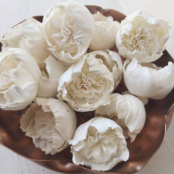 "Nana's Rose™ Set of 12 - 1.5"" _sola_wood_flowers"
