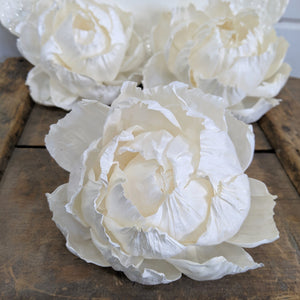 Peony - 5 inch - Set of 3 _sola_wood_flowers