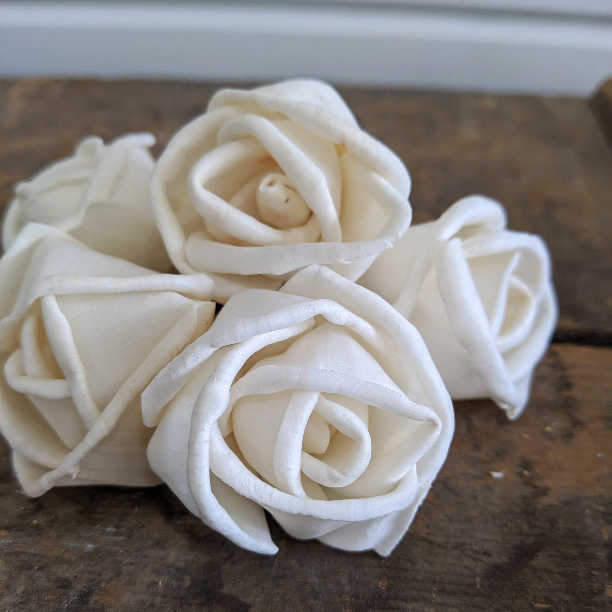 Rosa™- Bulk Wholesale 100 Pack - 1.5 inches _sola_wood_flowers