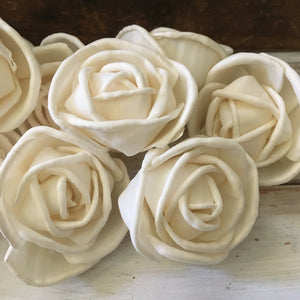 Rosa™ sold by the dozen - 2.5 inches _sola_wood_flowers