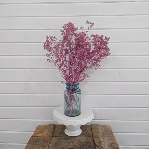 Sesame Bloom - Magenta - Preserved and Colored- 4oz _sola_wood_flowers